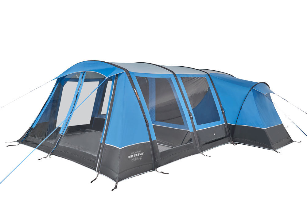 Vango 2020 Tents Airbeam Excel Rome Air 650Xl Sky Blue Norwichcamping Co Uk