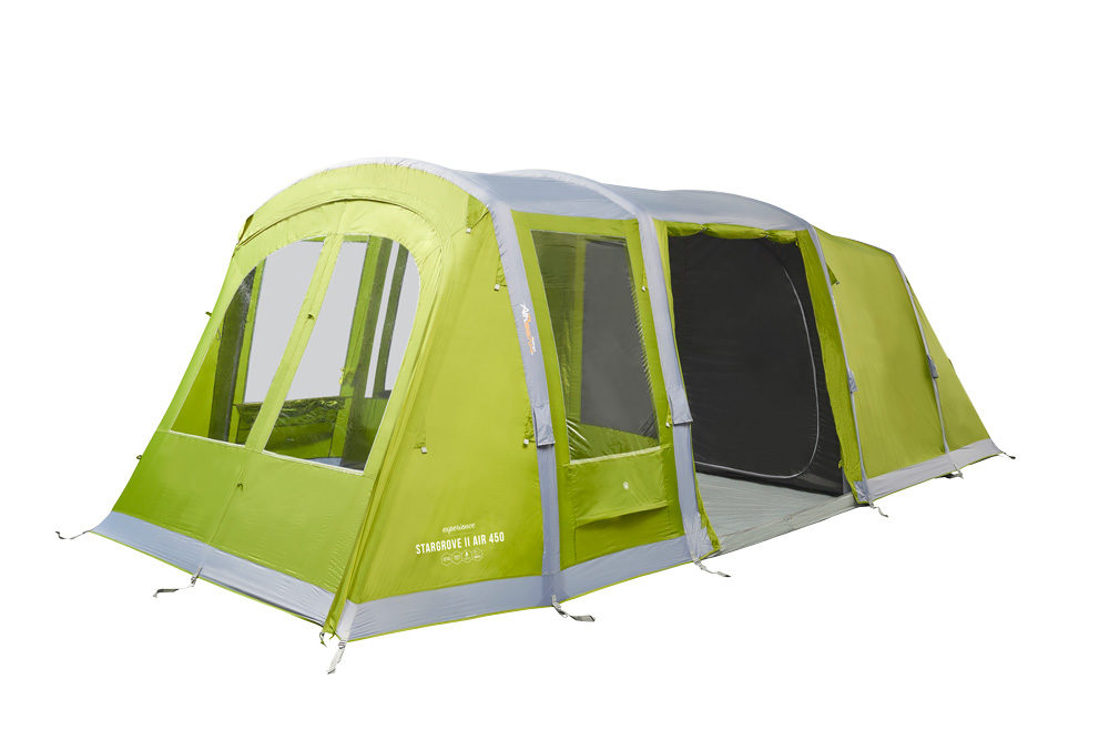 Vango 2020 Tents Airbeam Experience Stargrove Air 450 Herbal Norwichcamping Co Uk