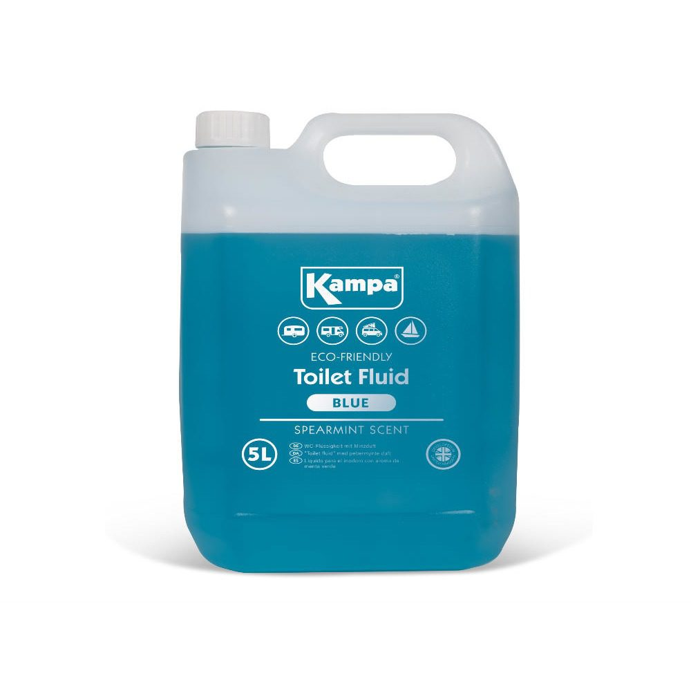 Kampa toilet fluid spearmint 5L