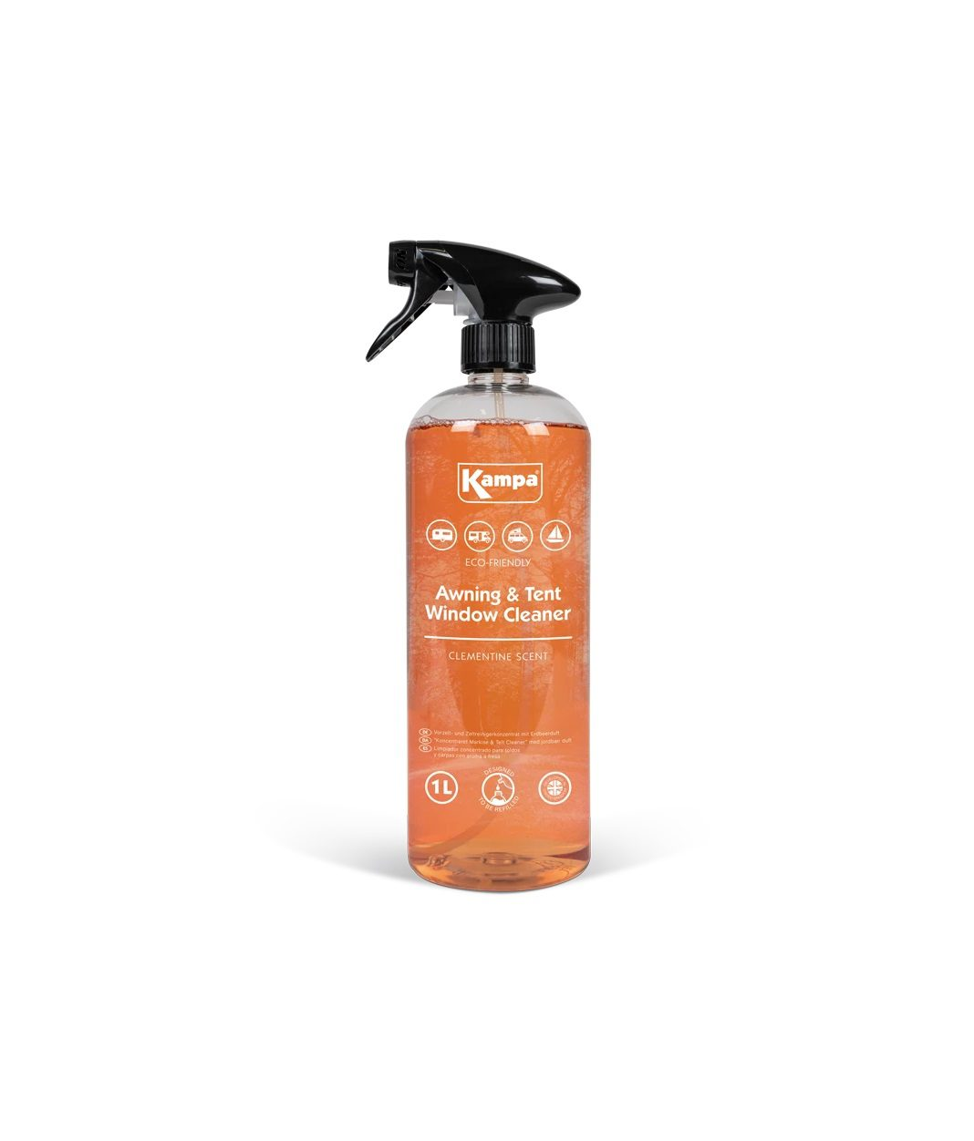 awning and tent window cleaner bottle