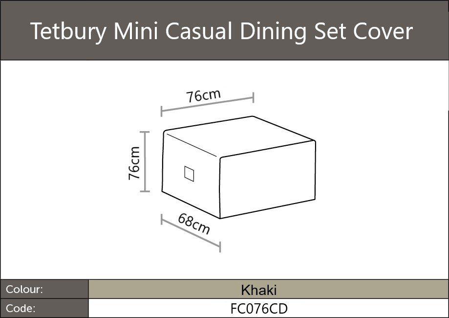Tetbury Mini dining set cover