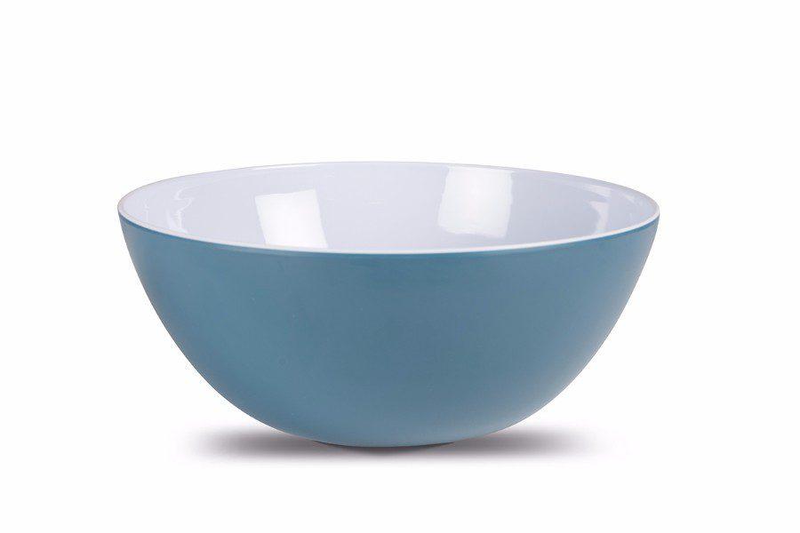 Dusk Blue Heritage Salad Bowl