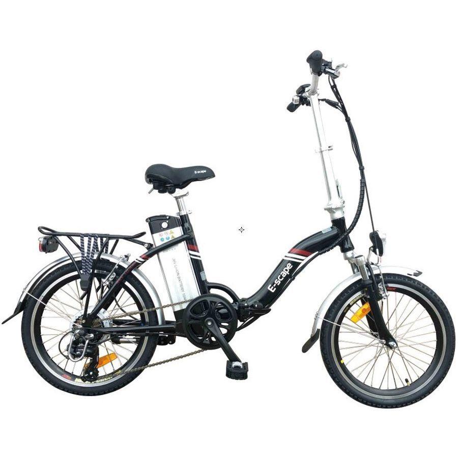 E Scape Folding Bike Black
