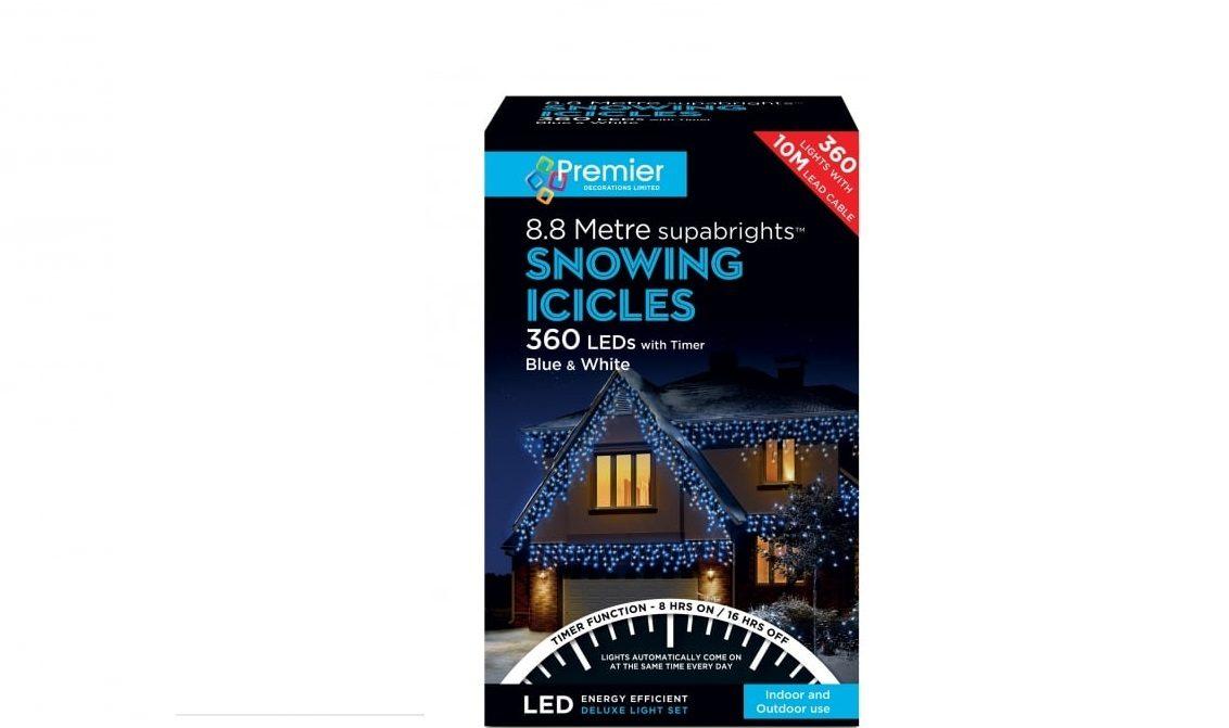 360 Led Blue White