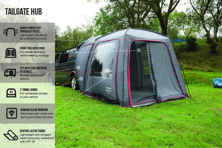 Vango Tailgate Hub Low 2021 Norwich Camping 3