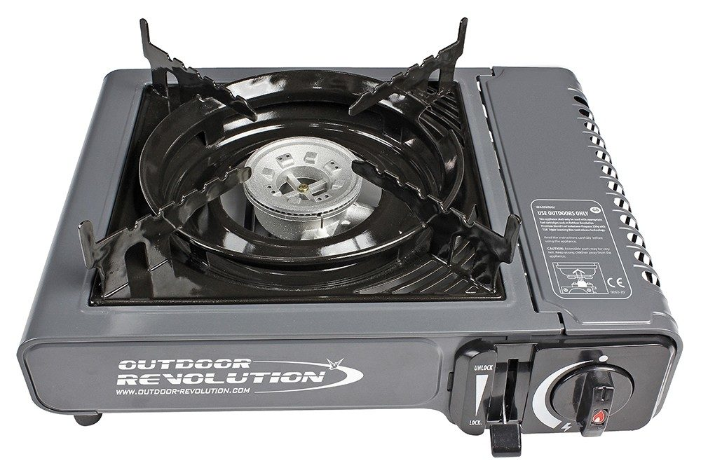 Outdoor Revolution Single Burner Gas Stove Norwich Camping