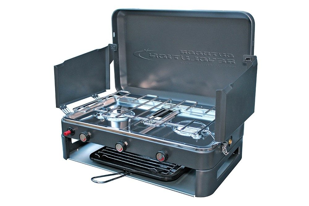Outdoor Revolution Twin Burner Gas Stove Norwich Camping