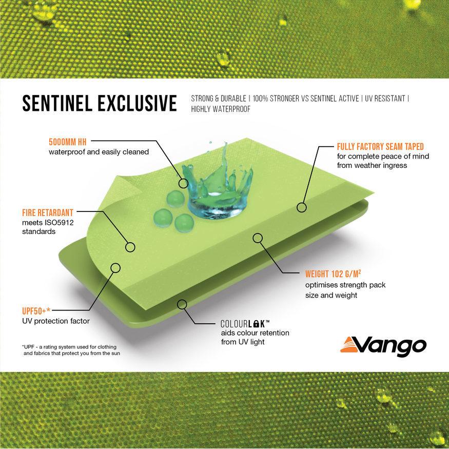 Vango Zipped Sun Canopy - Sentinel Exclusive - TA108