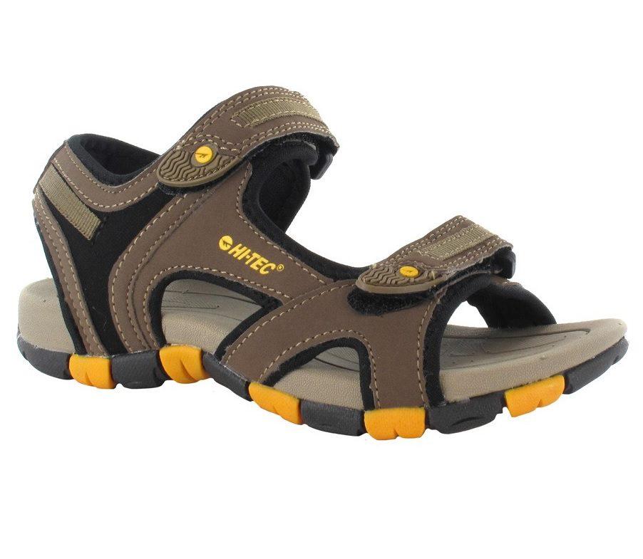 Hi-Tec GT Strap Junior Sandal Smokey Brown