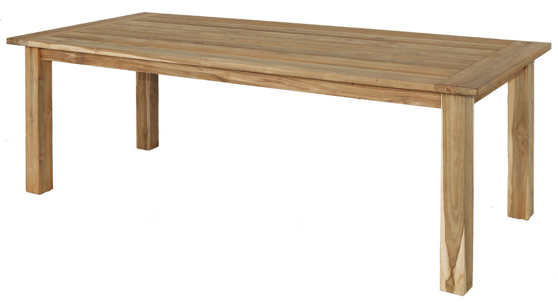 Alexander Rose Teak Rustic Table - 258