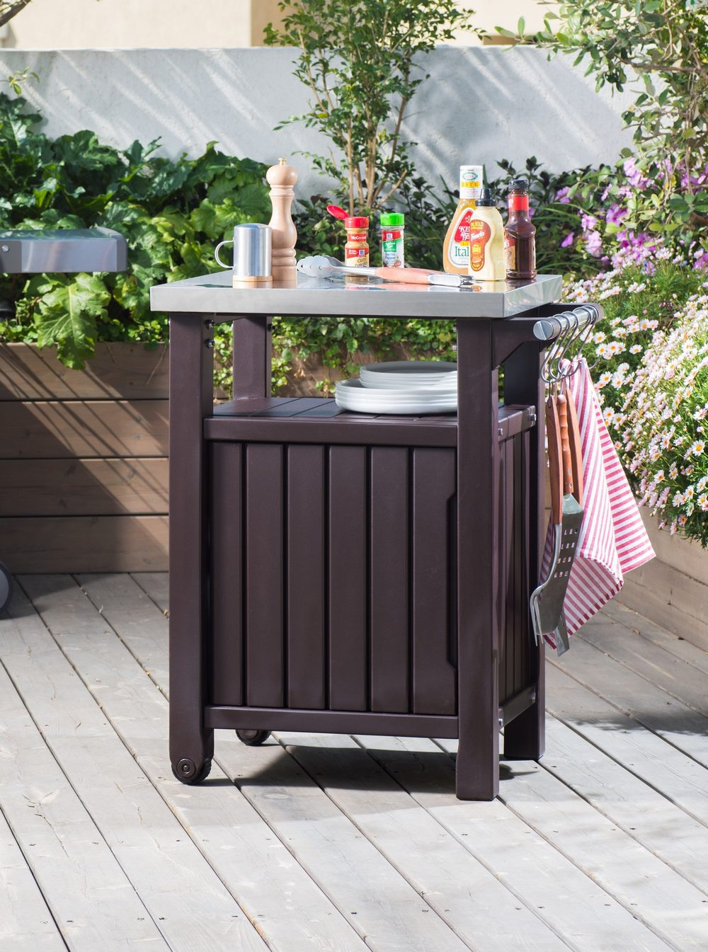 Garden Must Haves Single BBQ Table