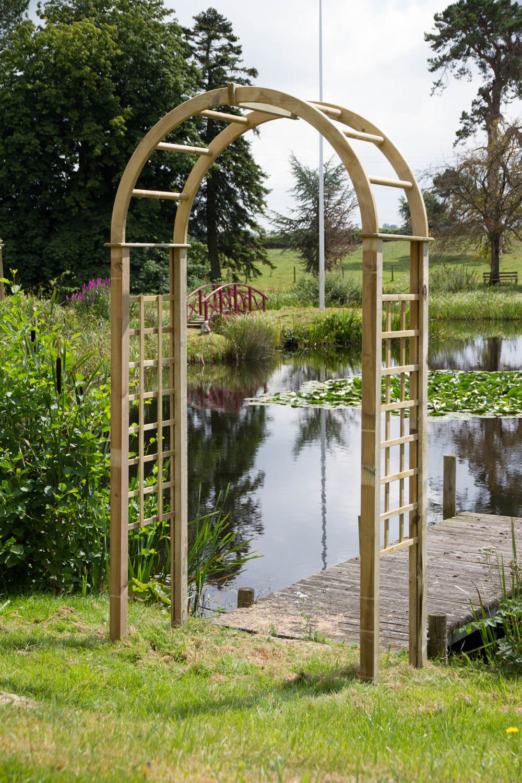 Katja Wooden Garden Arch