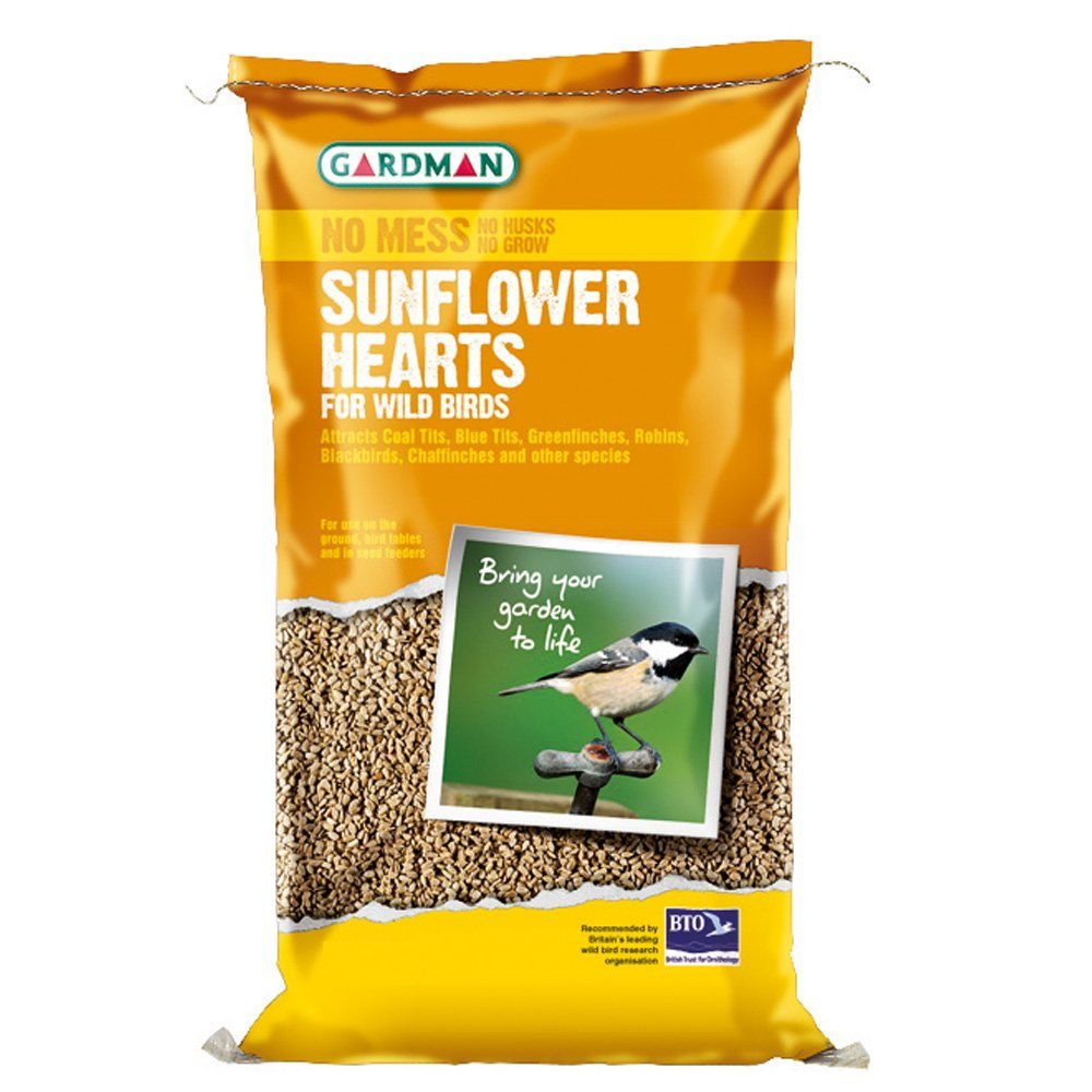 Sunflower Hearts, Sizes: 1kg and 4kg (A06420)