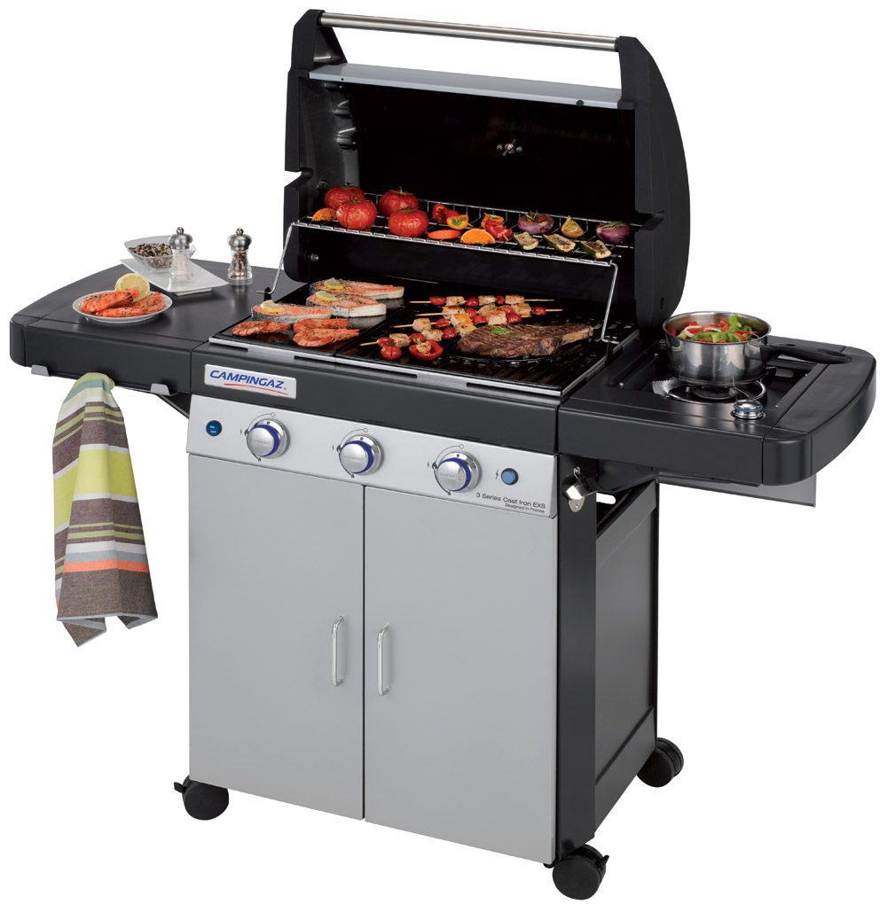 Campingaz 3 Series Cast Iron EXS BBQ