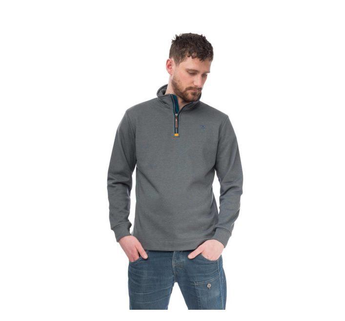 Seafarer Cotton Jersey Top grey