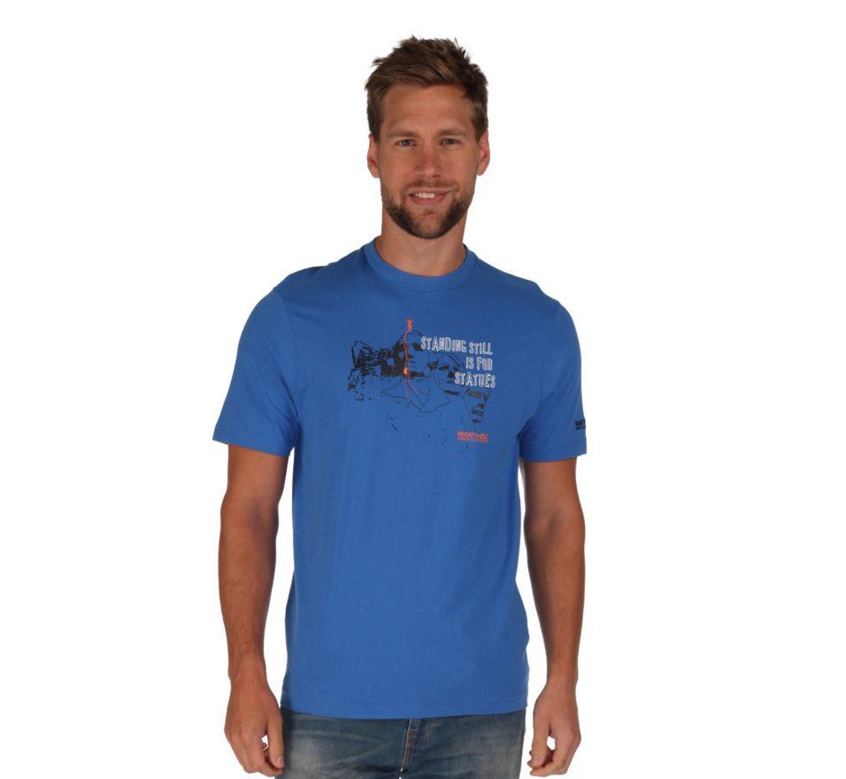 ALGAR T-SHIRT STRONG BLUE