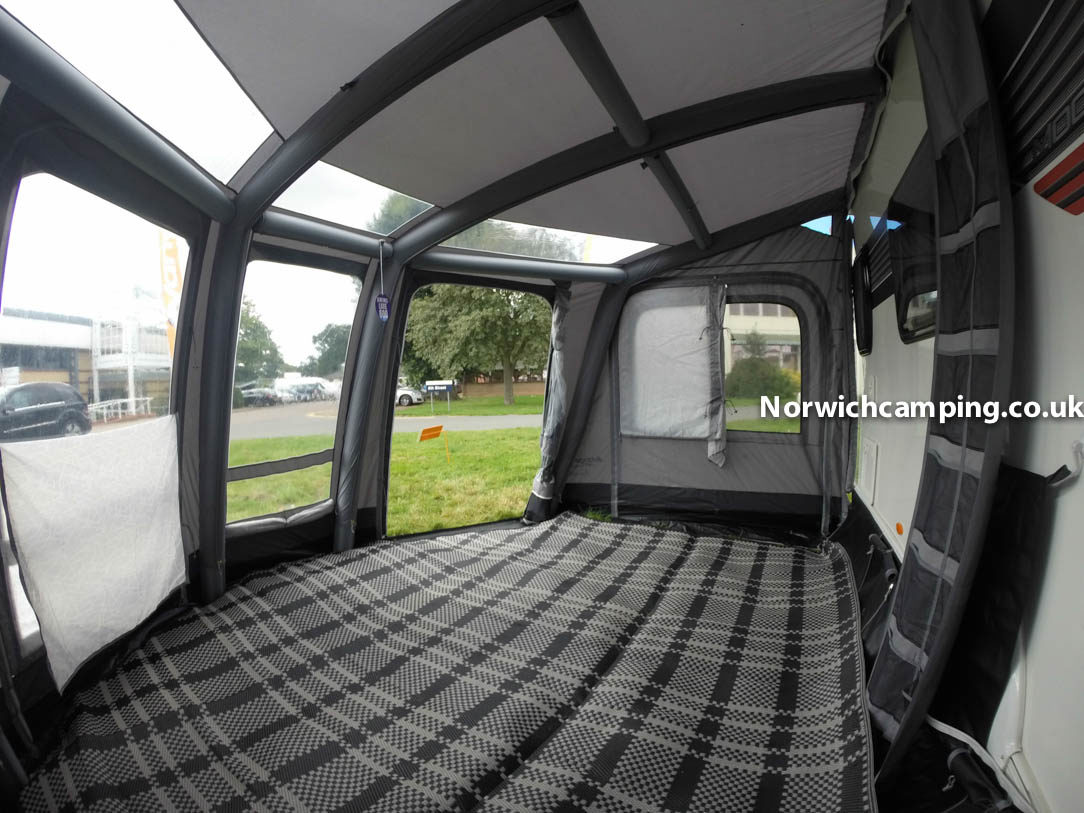 Vango Kalari Ii 380 Air Porch Caravan Awning 2018 Caravan Awnings Norwich Camping