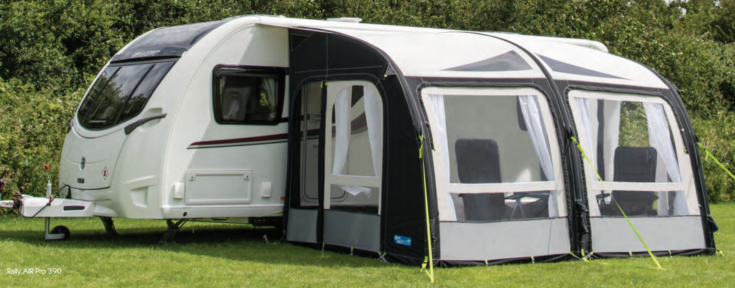 Kampa rally air pro 390 awning 2017