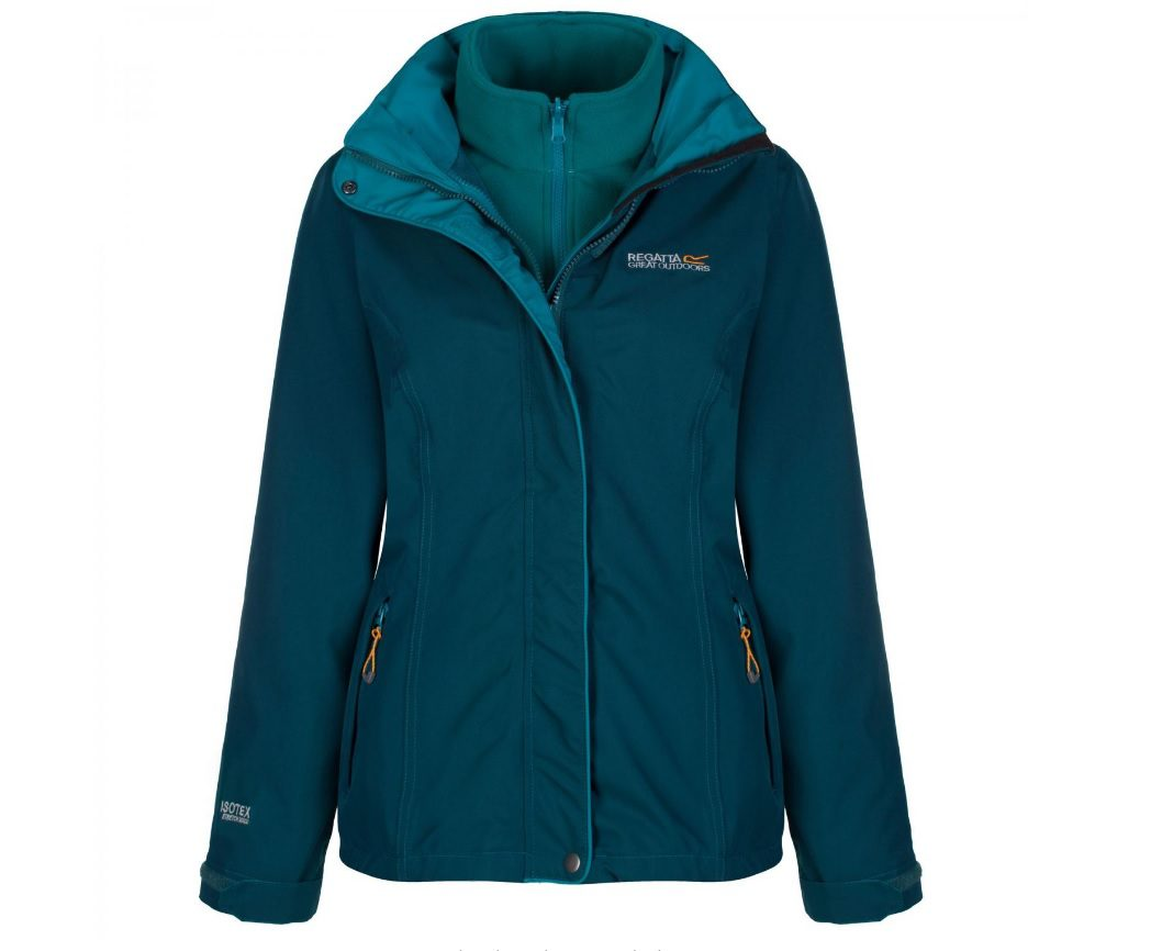 Regatta CIRRO 3 IN 1 JACKET DEEP TEAL LAKE