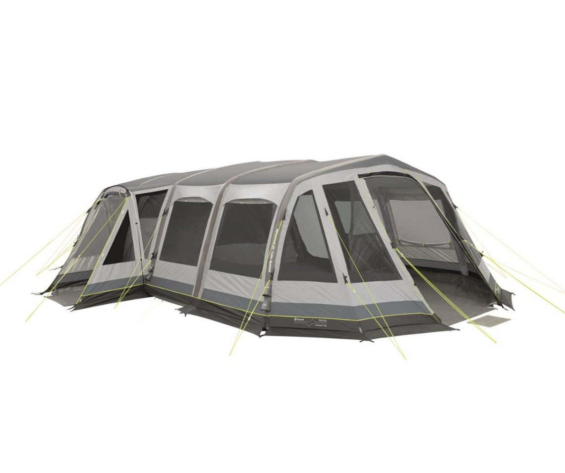 Outwell Vermont 7SA inflatable tent 2017