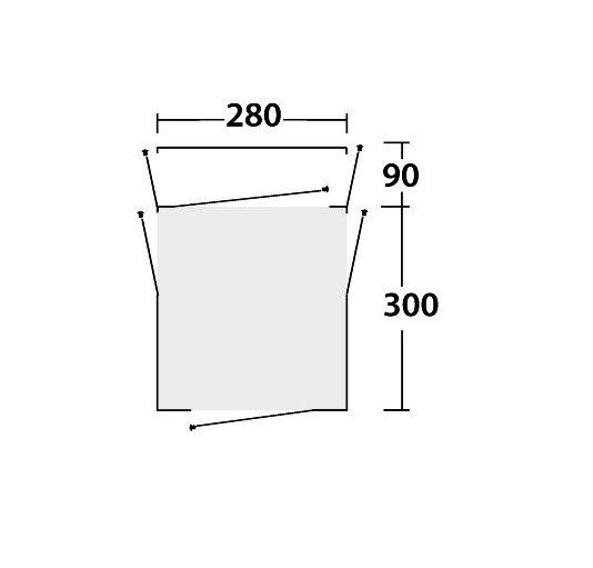 Outwell daytona floor plan
