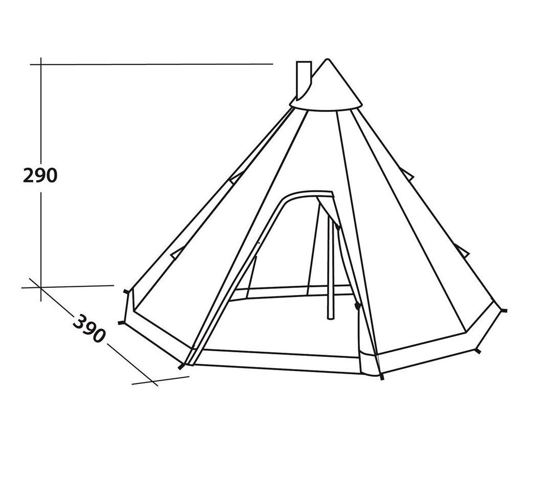 Robens Cherokee Tipi Tent specs