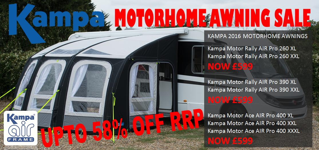 Kampa motorhome awning sale