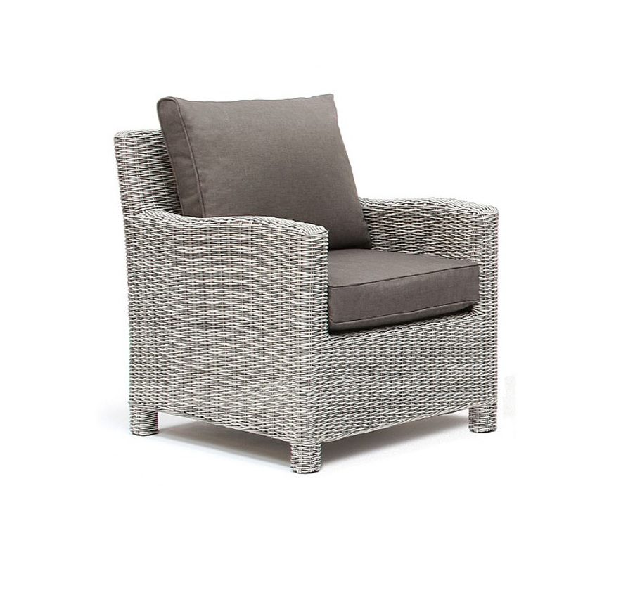 Kettler Palma Armchair in whitewash