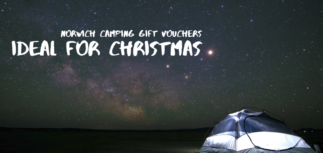 norwich camping gift voucher