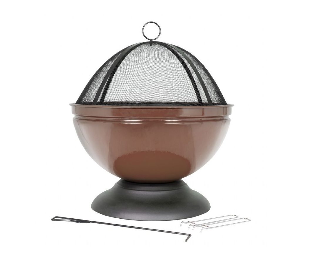 La Hacienda globe with grill