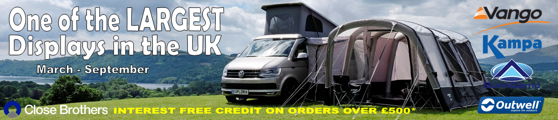 DRIVE AWAY AWNINGS TOP BANNER