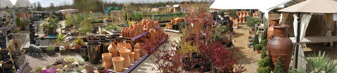 garden centre top banner