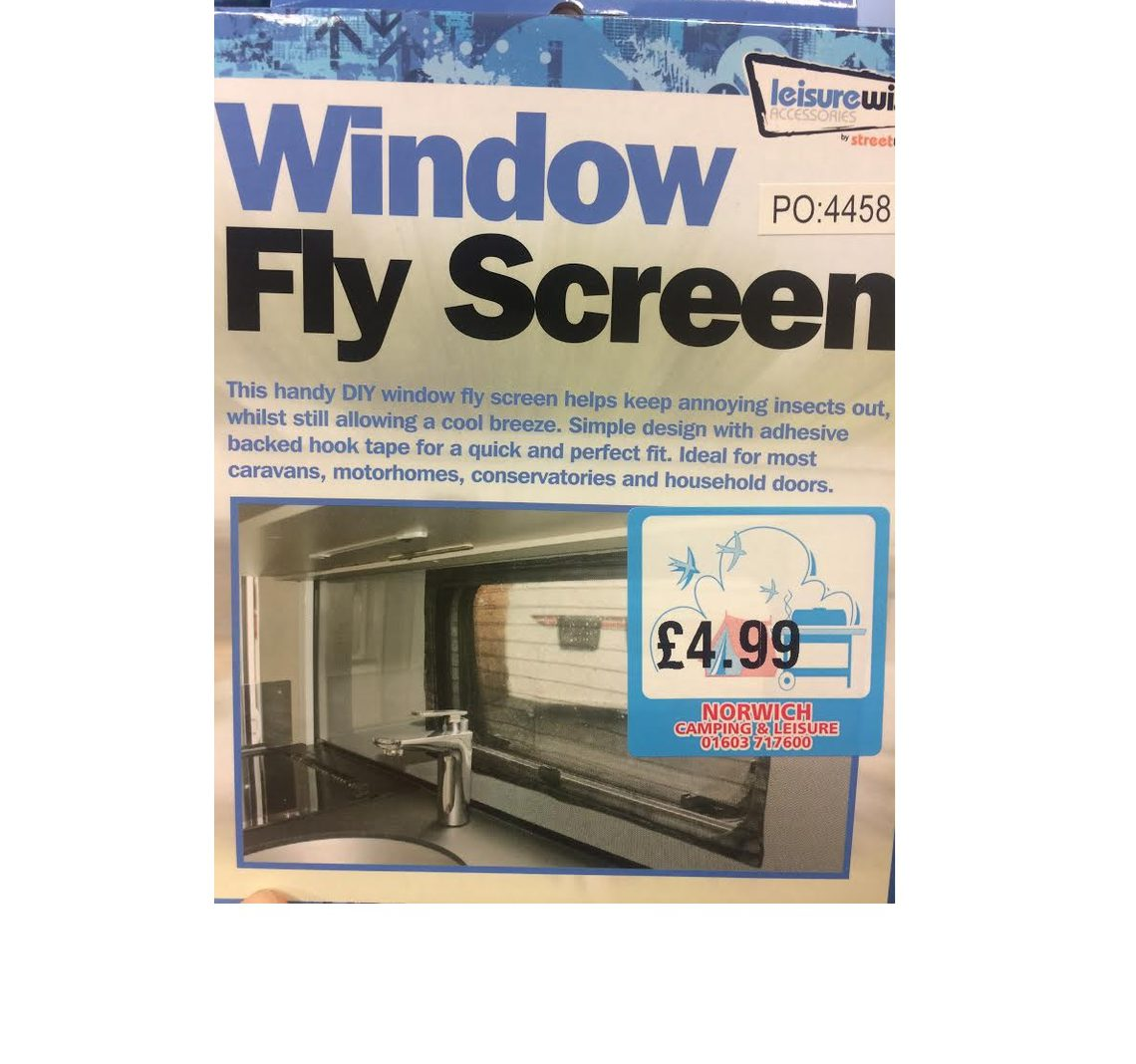 Leisurewize window flyscreen