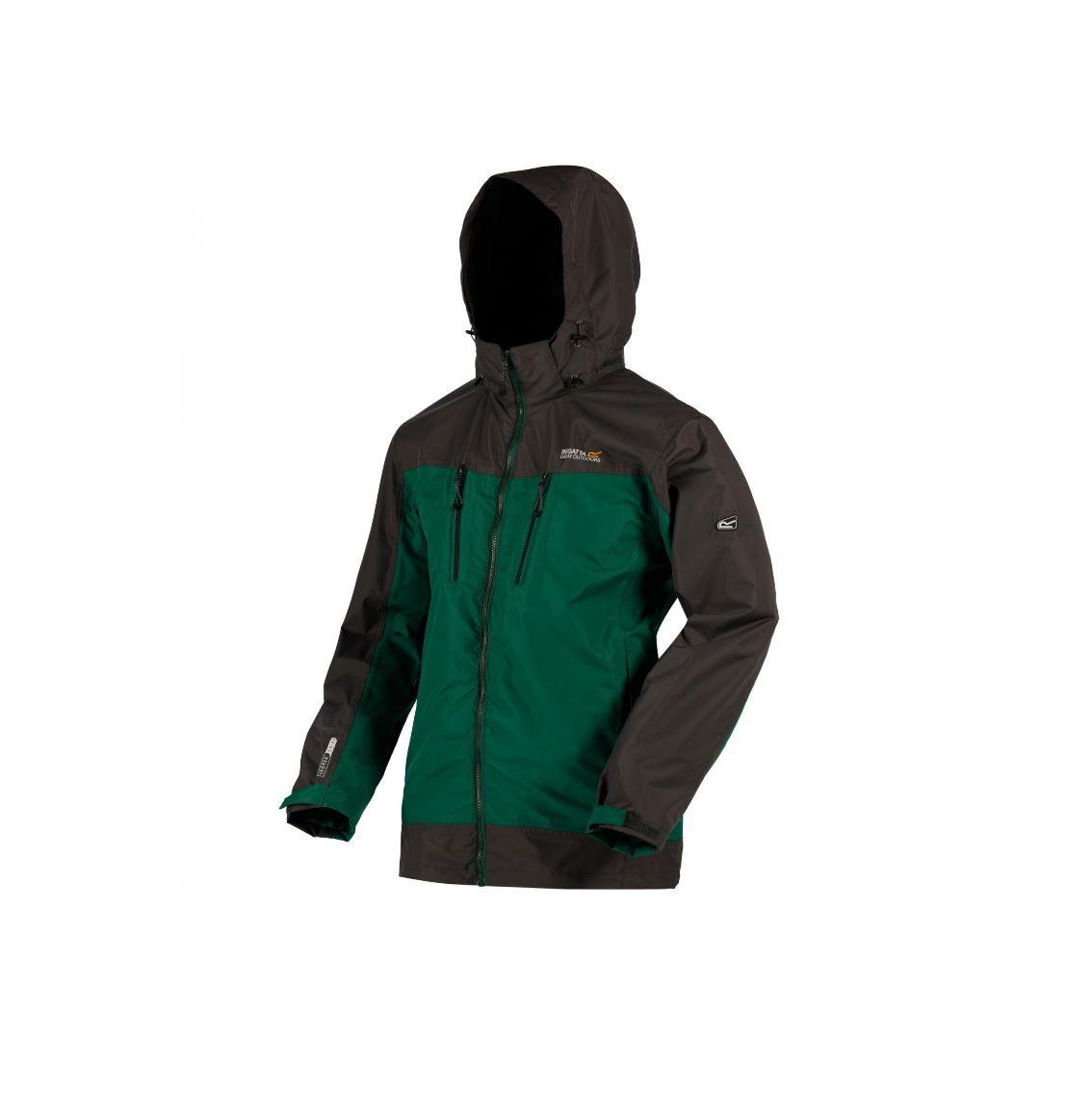 Regatta Mens Calderdale II jacket - green