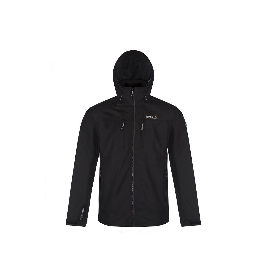 REGATTA Men's Calderdale Waterproof Jacket black