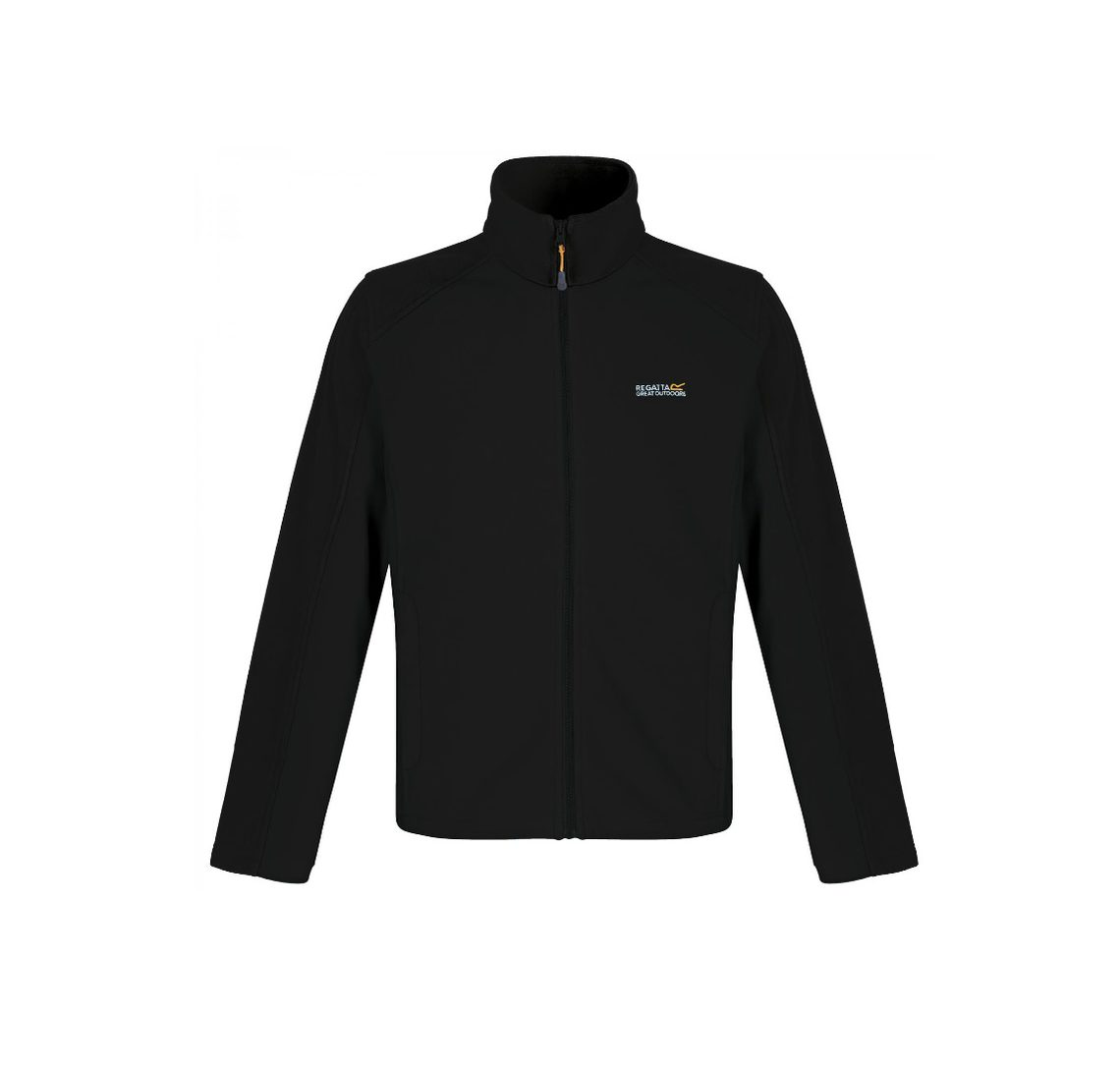 Regatta Mens Hedman fleece - black