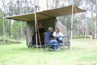 Oztent Side Awning RV2,3,4,5