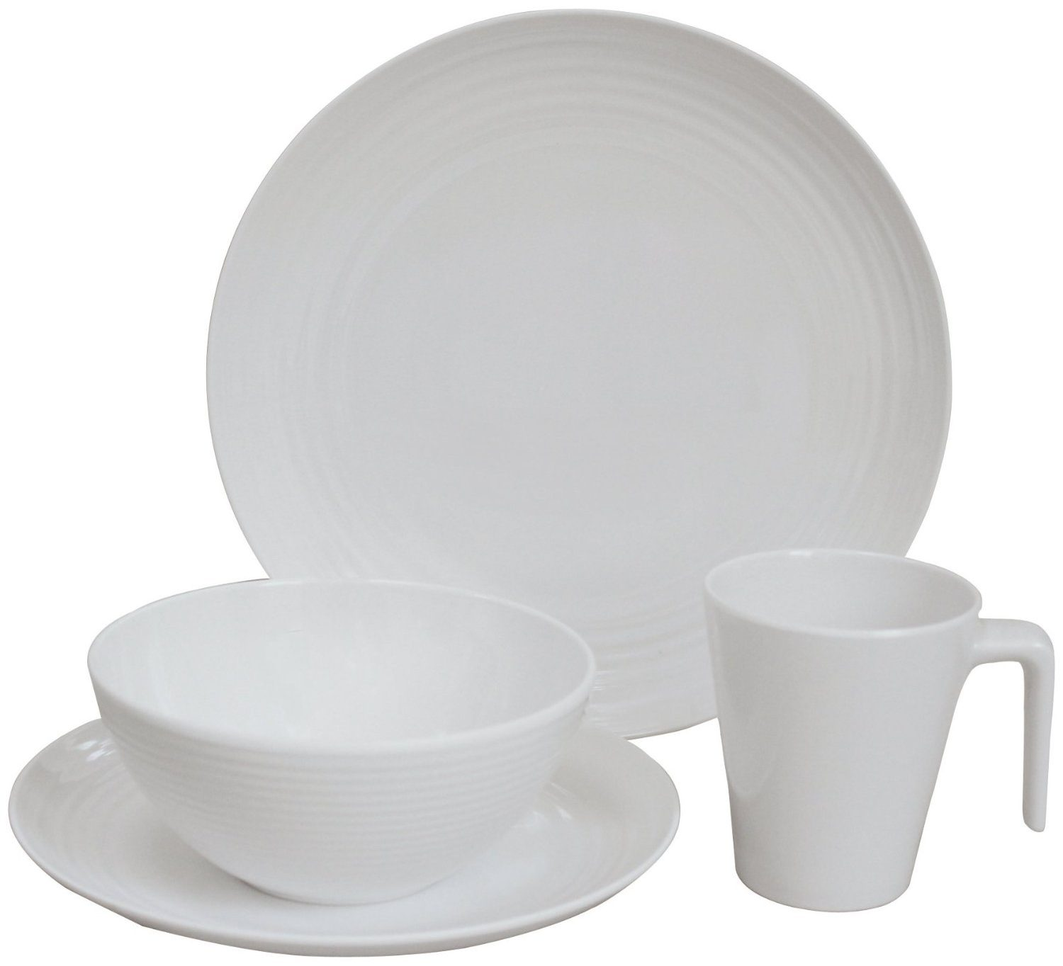 Flamefield Seramika 16pc Melamine Set