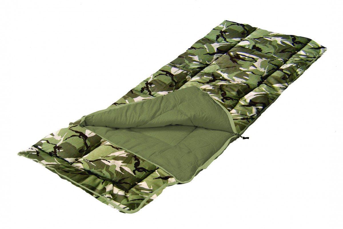 Sunncamp Camoflage Junior Sleeping Bag - SB1116