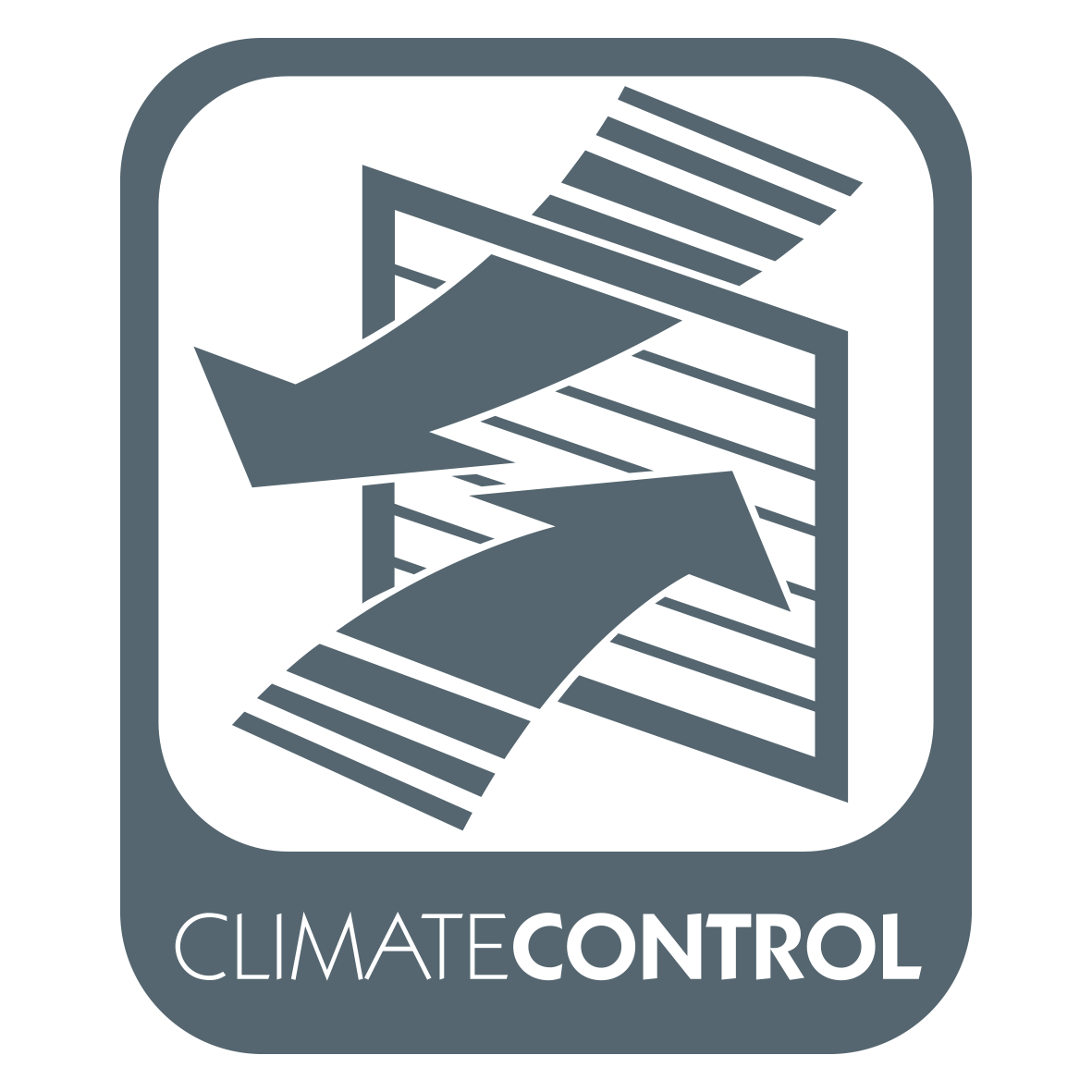 Climate Control Logo Charcoal