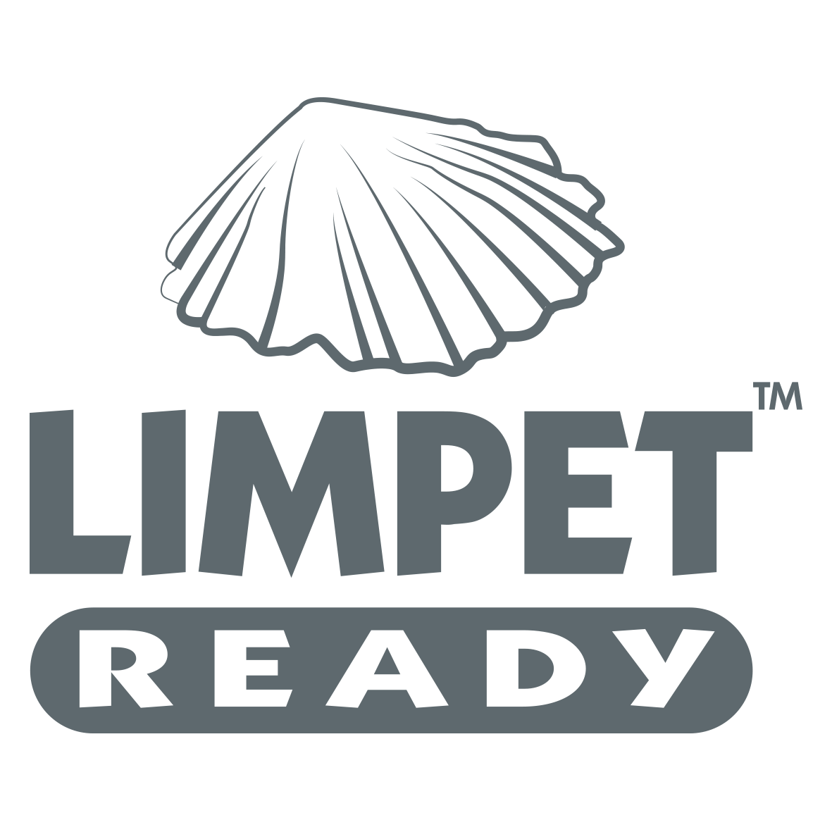 Limpet Ready Logo Charcoal