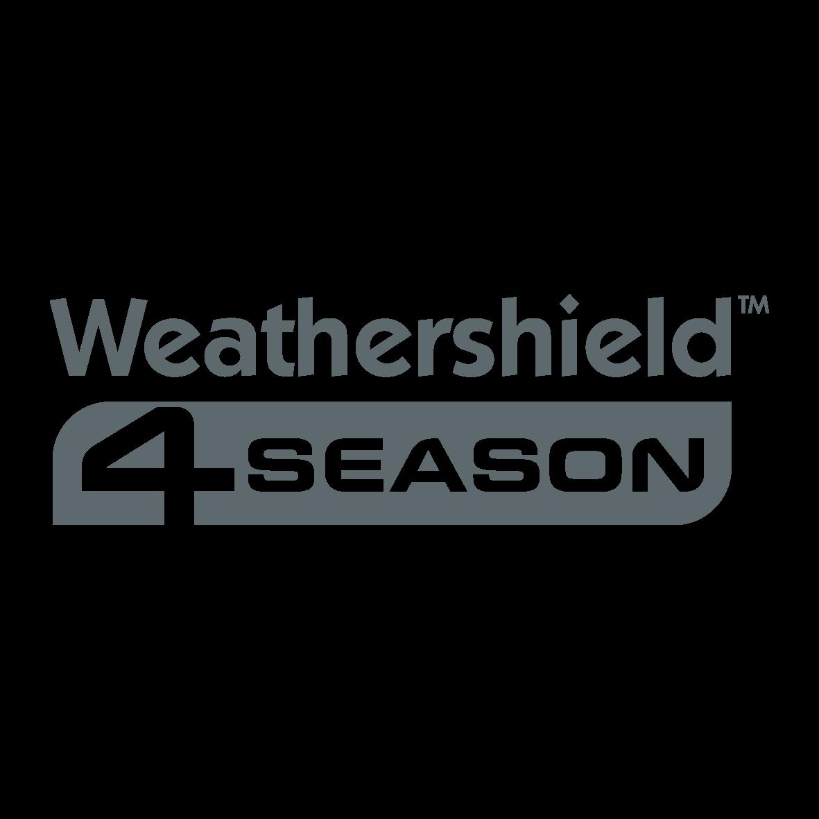 Weathershield 4 Season Logo Charcoal