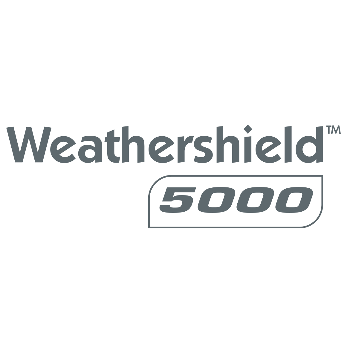 Weathershield 5000 Logo Charcoal