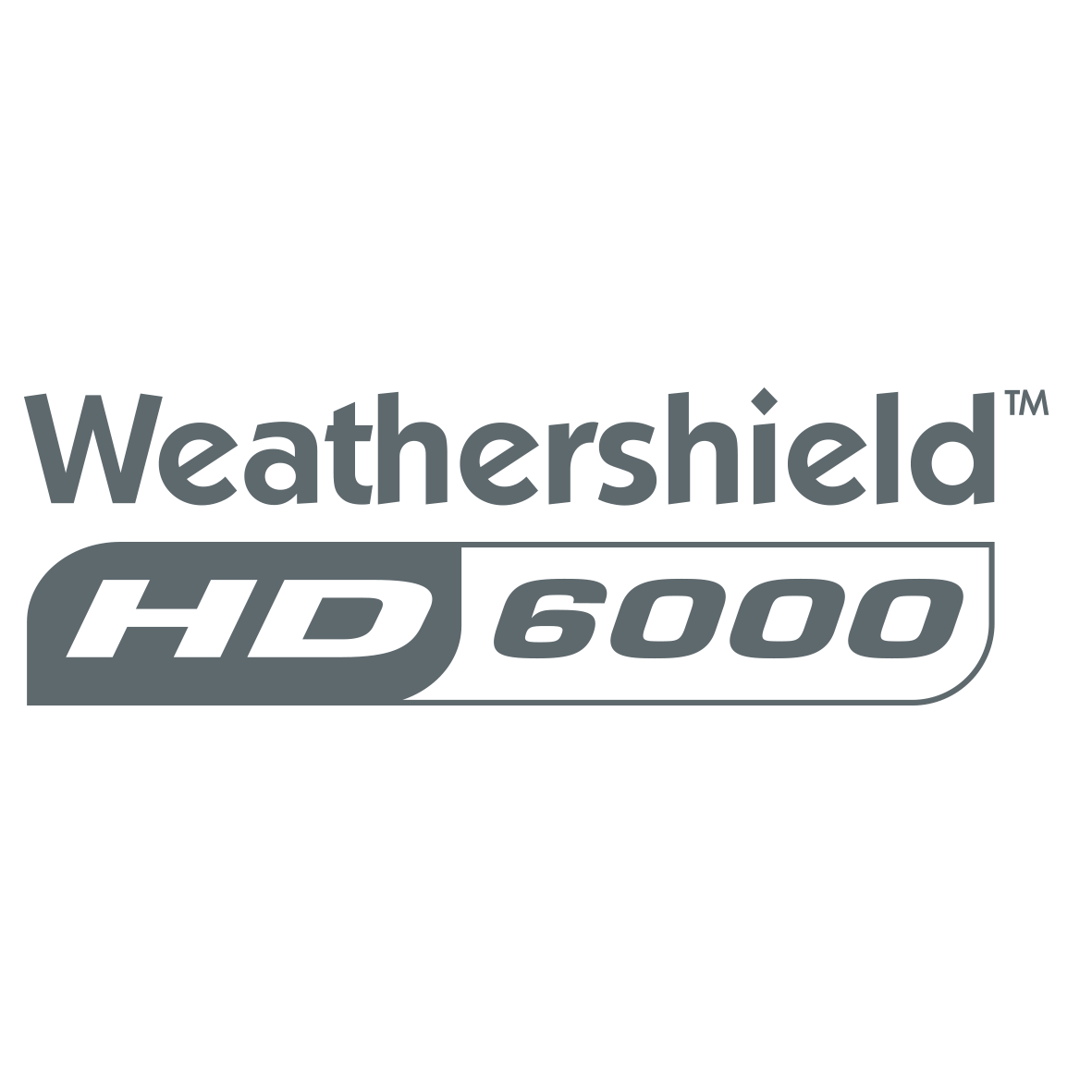 Weathershield Hd 6000 Logo Charcoal