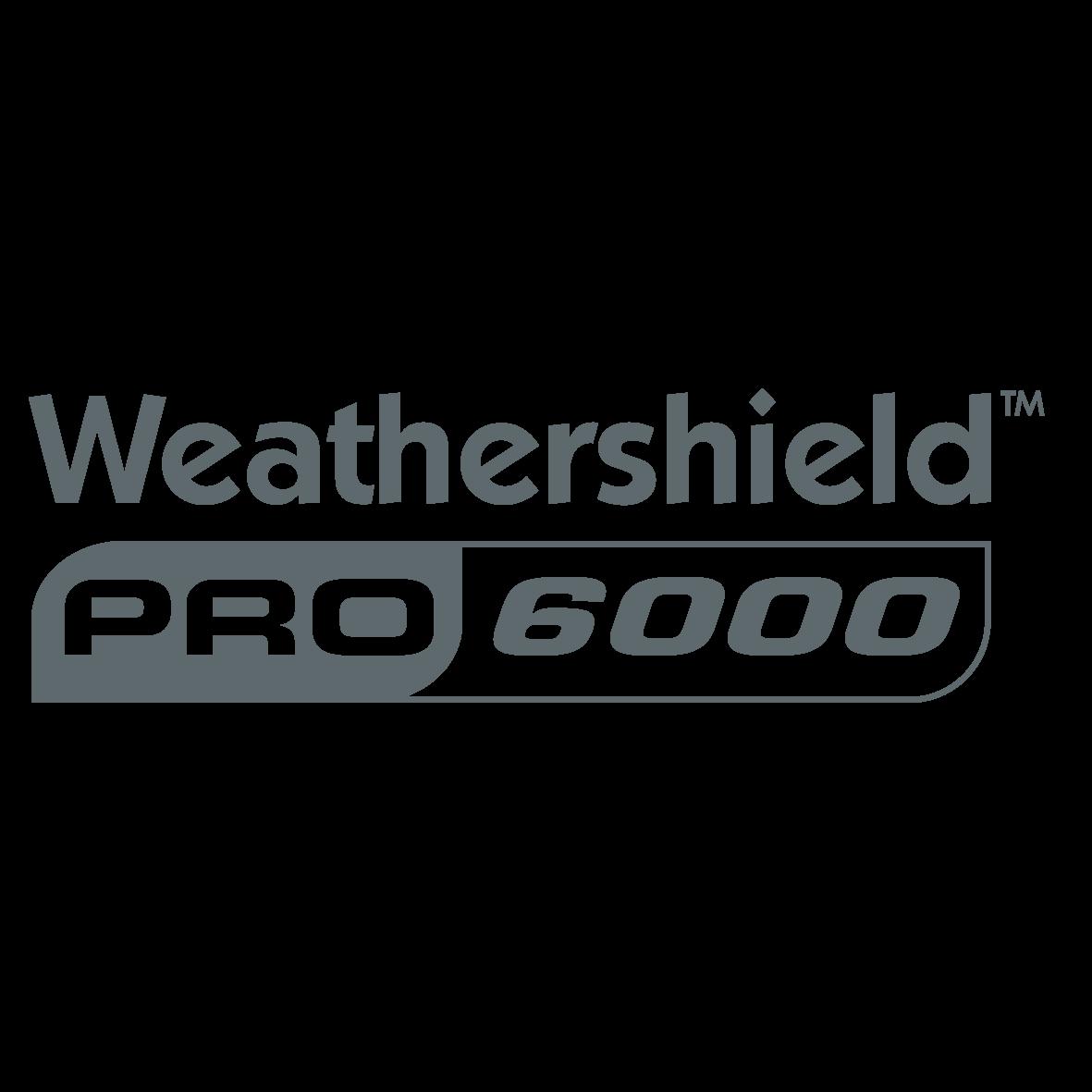 Weathershield Pro 6000 Logo Charcoal