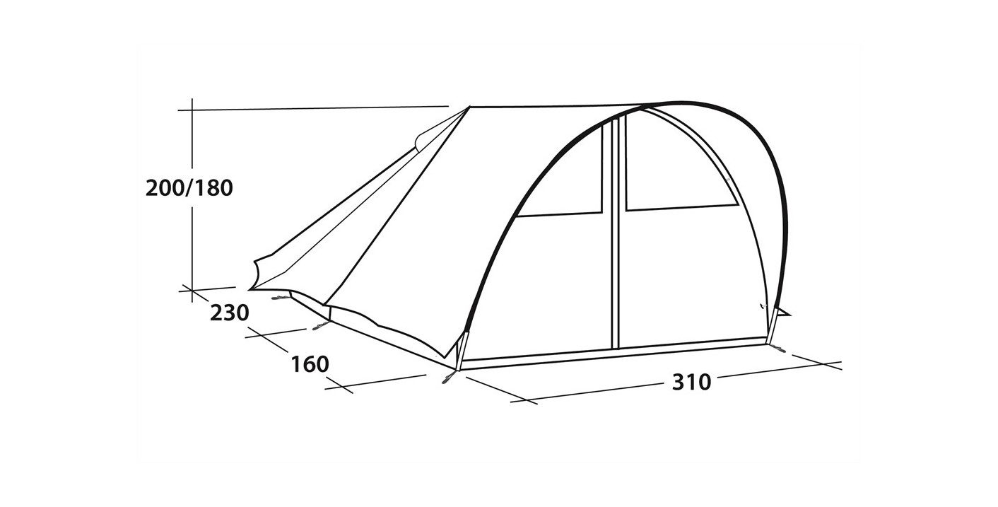 Robens Trapper Tent perspective 2018