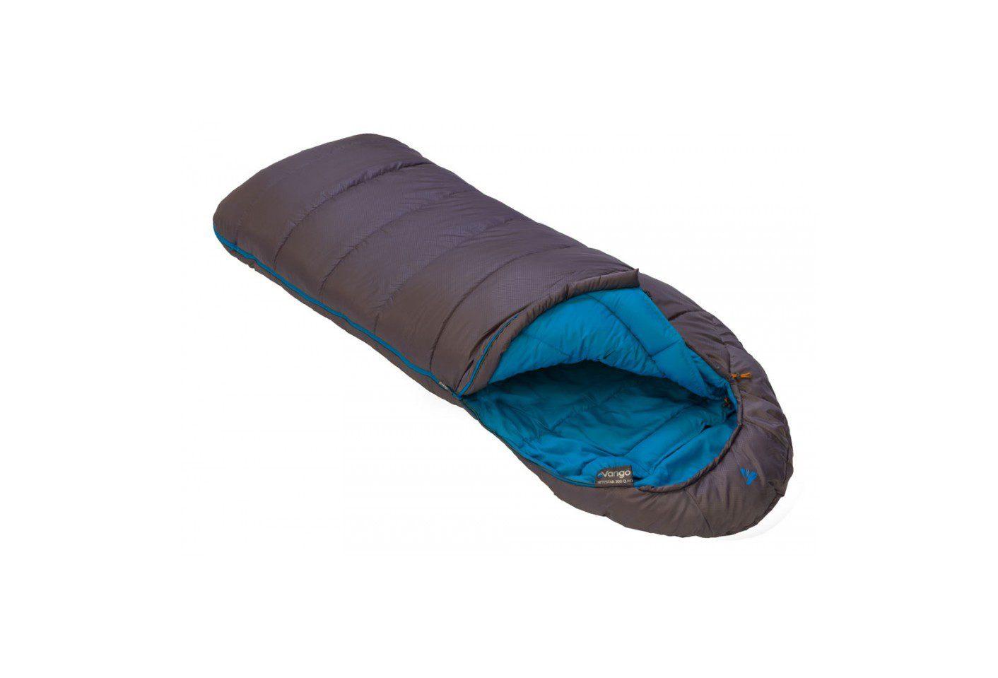 Vango Nitestar 300 Quad sleeping bag open - excalibur