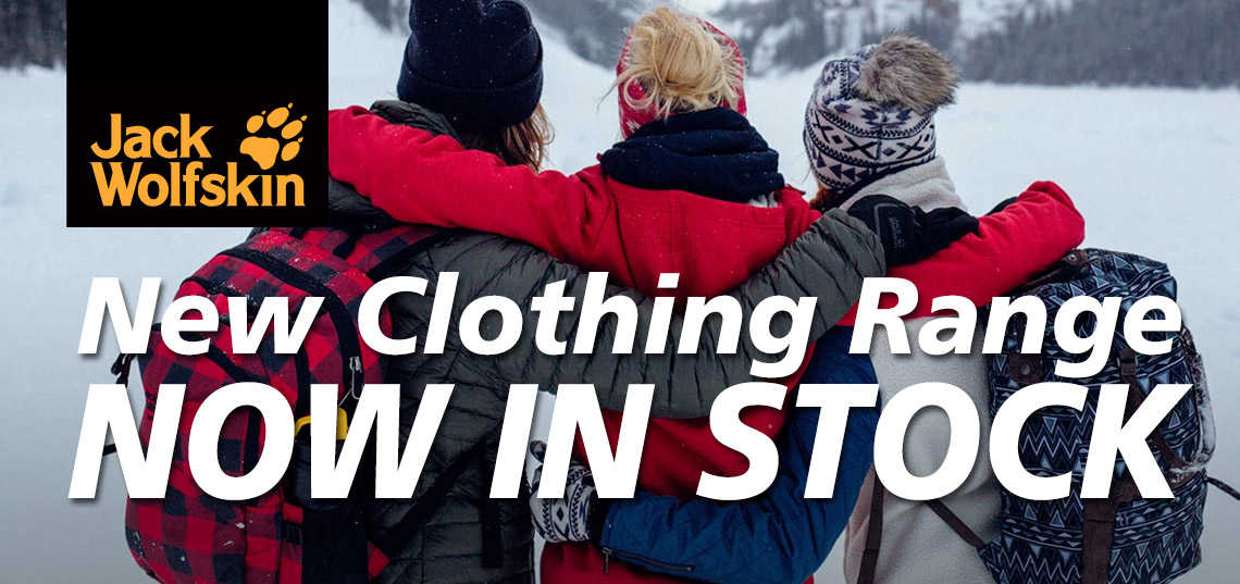 Jack Wolfskin New Clothing Range