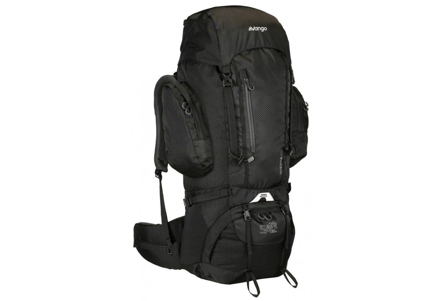 Vango Sherpa 65 rucksack Black