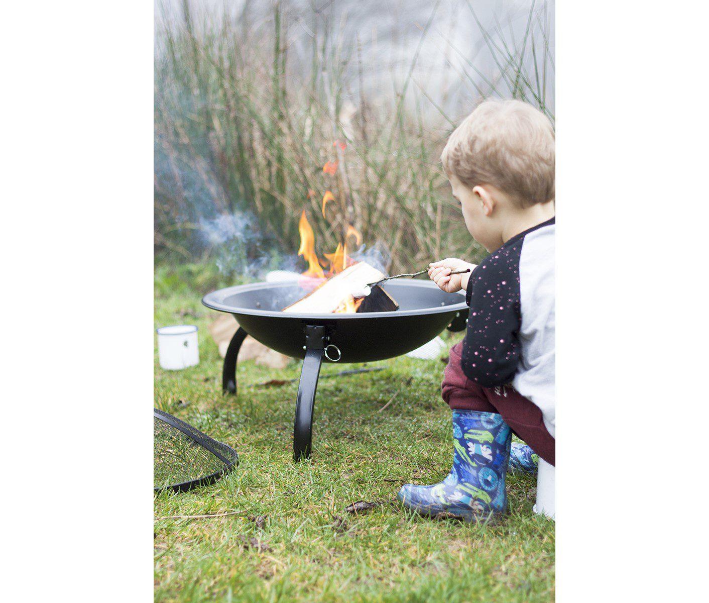La Hacienda Camping Firepit bowl